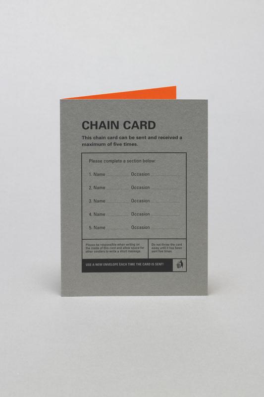 Utilitarian Greeting Cards Daniel Eatock
