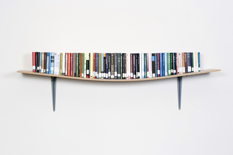 display book shelf daniel eatock - Picture Of Book Shelf